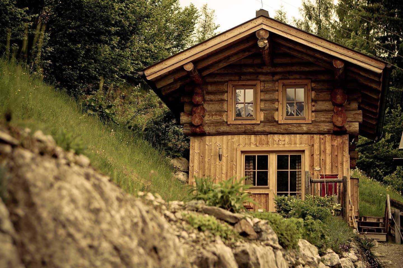 Romantik in der eigenen Blockhütte Häuser zur Miete in