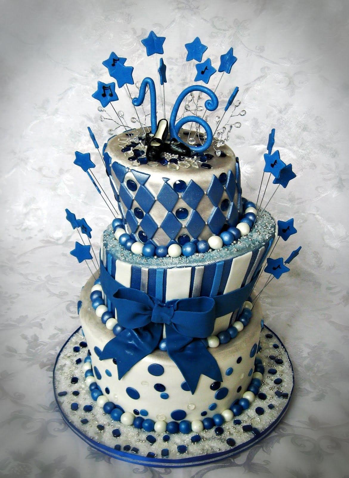 Sweet 16 Birthday Cakes For Boys Cake Pinterest Sweet 16