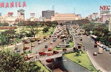 Nec In Manila 1970s Manila Philippines Manila Philippines