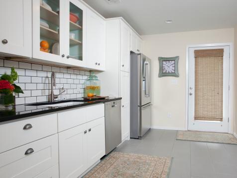 Pictures Of Kitchen Cabinets Ideas Inspiration From Hgtv Modern Kitchen Flooring Grey Kitchen Floor Kitchen Design
