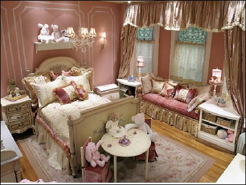 Princess-Inspired Girls Rooms Room, Princess room and House beautiful