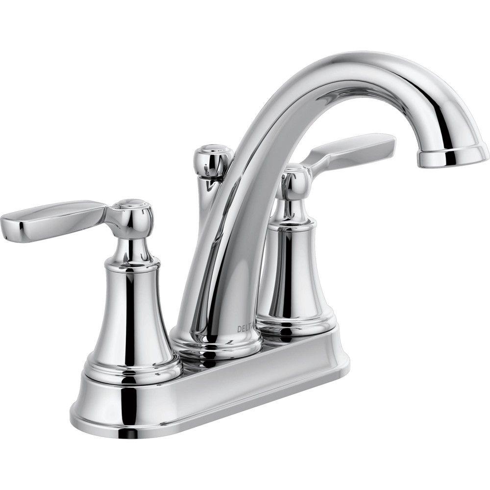 Delta Faucet 2532lf Mpu Woodhurst 1 2 Gpm Centerset Bathroom