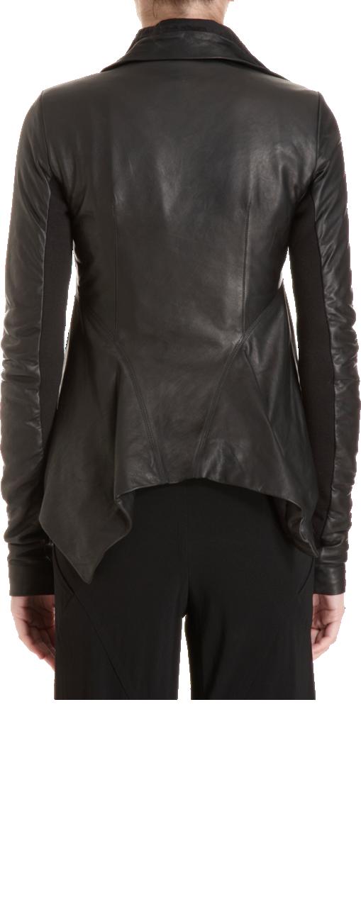 Rick Owens Cutaway Leather Jacket Leather jacket