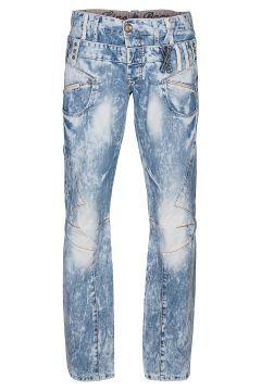 CIPO & BAXX You Are Living Hose Herren Jeans Denim Blau C-624 #modasto #giyim #erkek https://modasto.com/cipo-baxx/erkek/br30122ct59