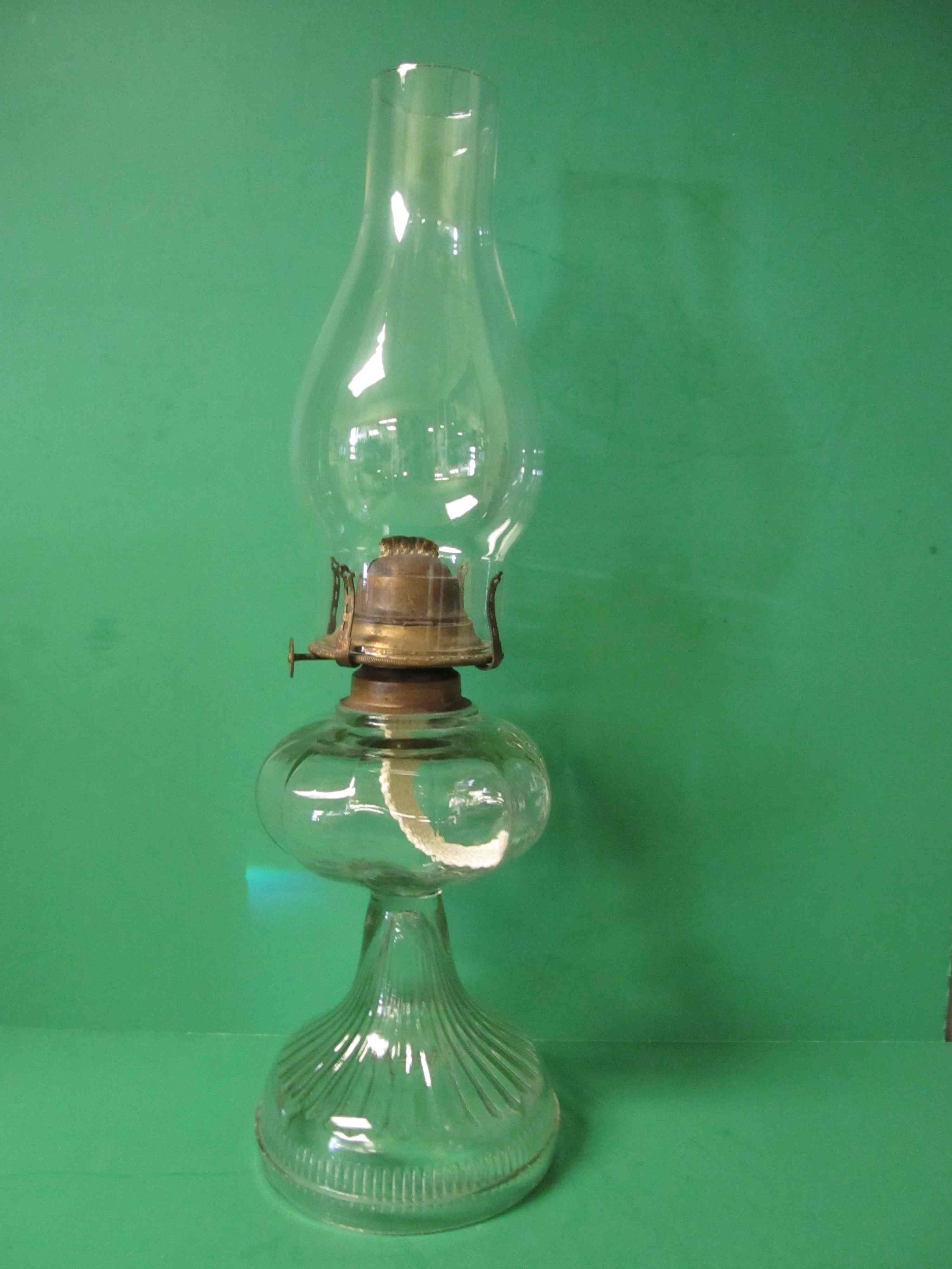 Antique Lamps | Pre 1910 oil lamp. The burner is a Banner. The ...
