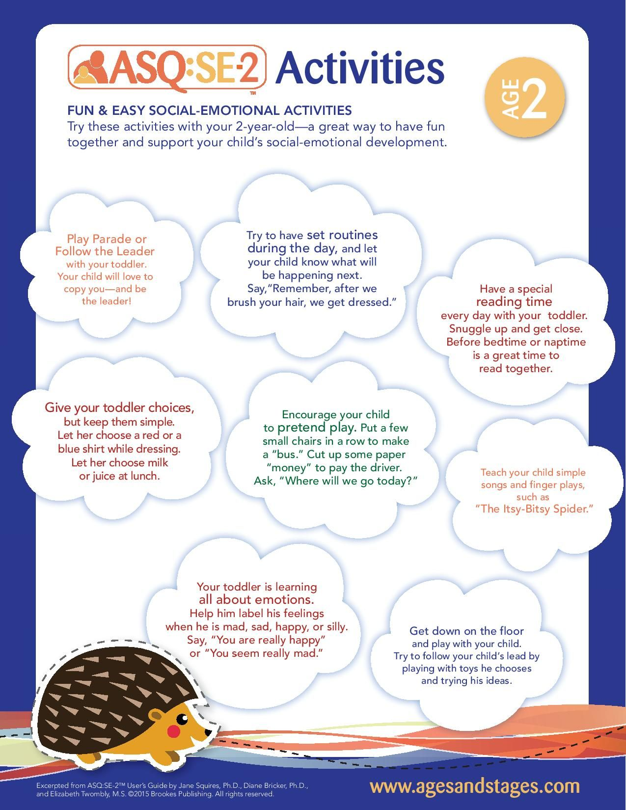 Age 2 Social Emotional Activities