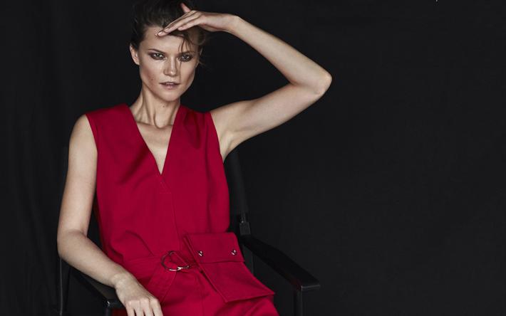 Download Wallpapers Kasia Struss 4k Top Models Beauty Blonde Polish