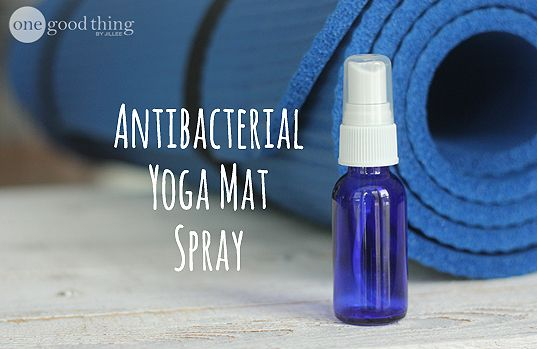 Homemade Yoga Mat Cleaner Ingredients 1 Cup Distilled