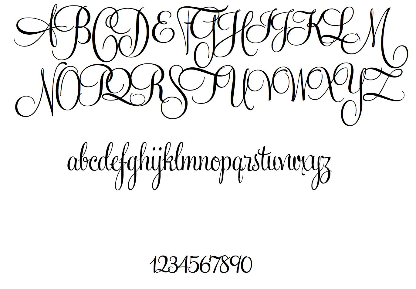 Lettering Fonts Types Of Font Styles Script Typography