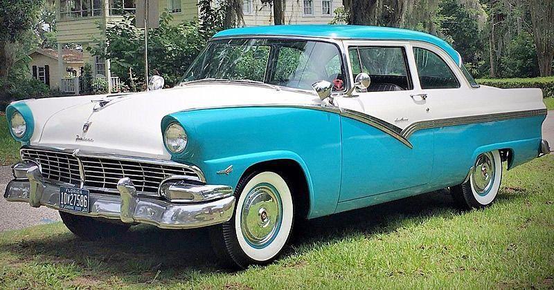 1956 Ford Fairlane Club Sedan – 292 V8 with Ford-O-Matic