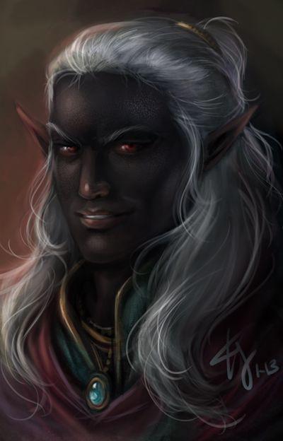 Baeloth By Artastrophe On Deviantart Dark Elf Character