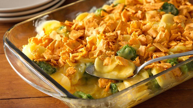Scalloped potatoes broccoli crunchy. This casserole will be the new favorite at your next holiday gathering. Easy to put together, even more delicious to eat!