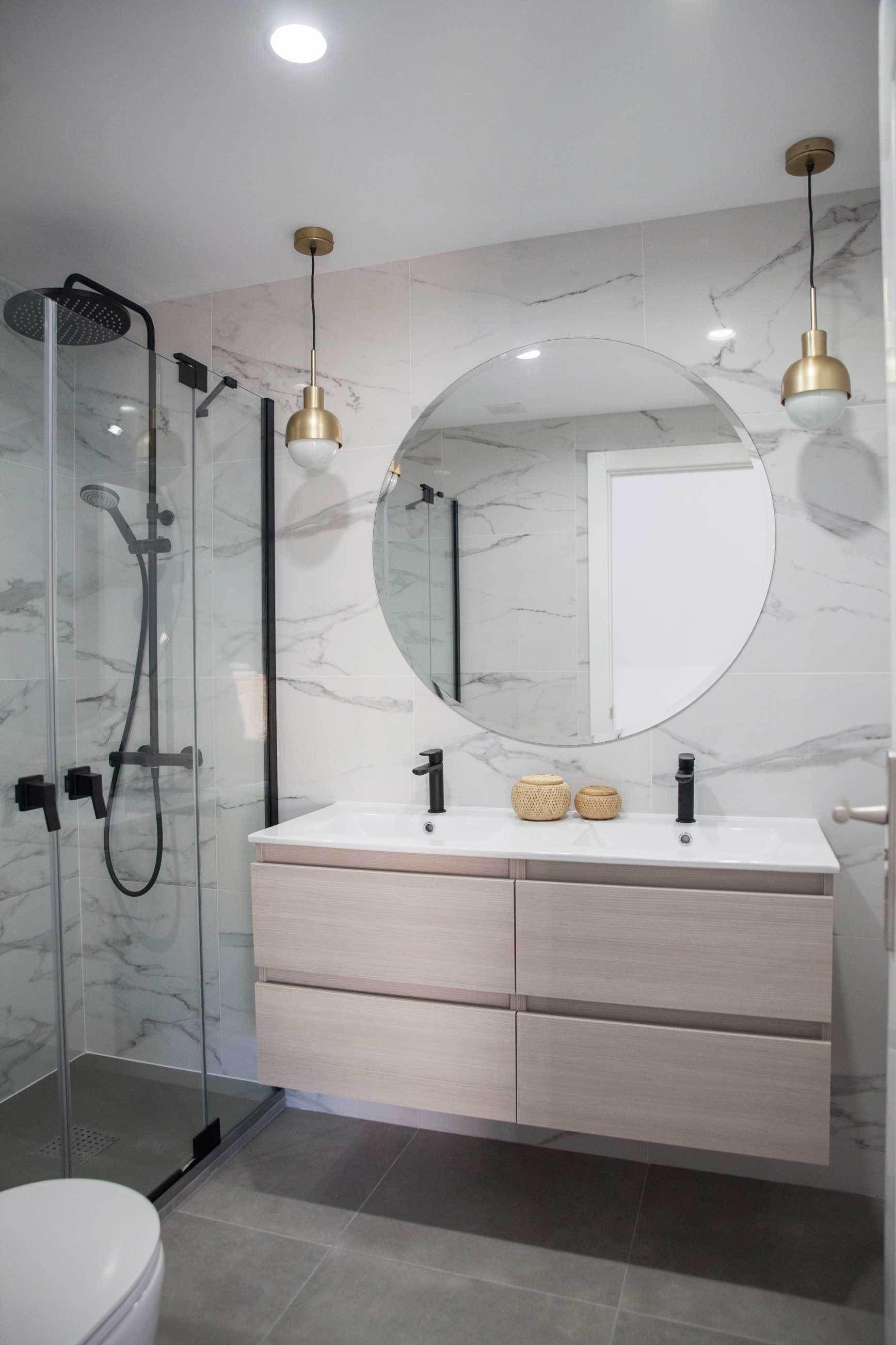 Reforma integral ba o ensuite bathroom deco cuarto de - Reformas de banos pequenos ...
