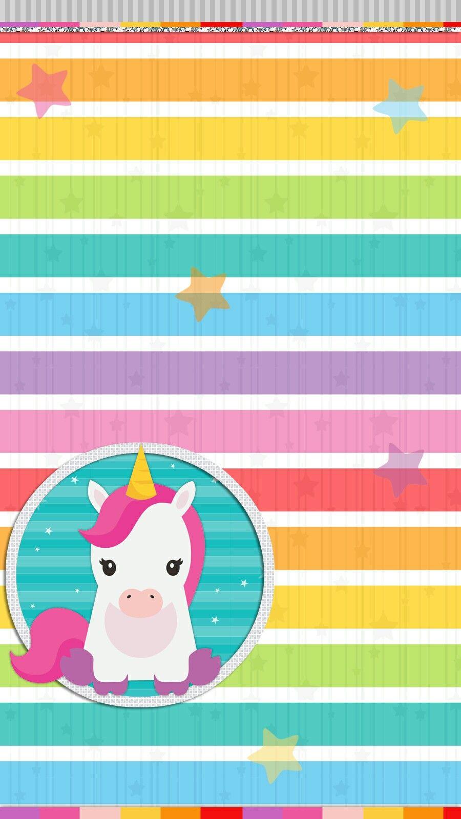 Unicorn Rainbow Wallpaper Iphone Android