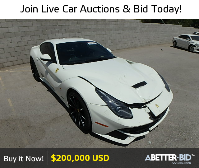 Salvage 2014 FERRARI ALL MODELS For Sale