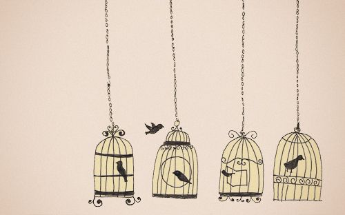 Reminds me of my tattoo, I am the free one..