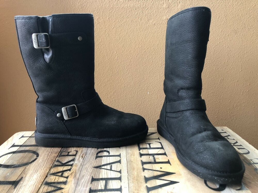 a3570459101 UGG AUSTRALIA Womens Sutter Black Boot Size 9 #fashion #clothing ...