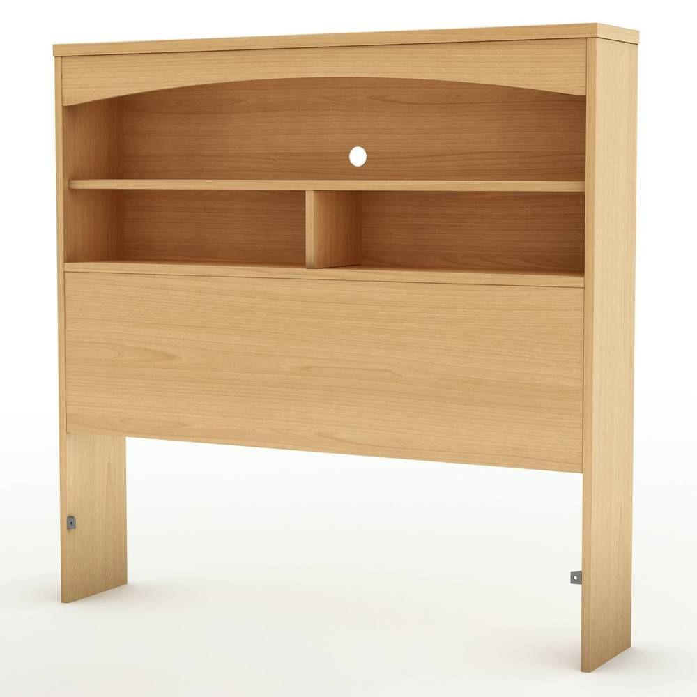 Twin Bookcase Storage Headboard Bed Frame Bedding Decor Bedroom