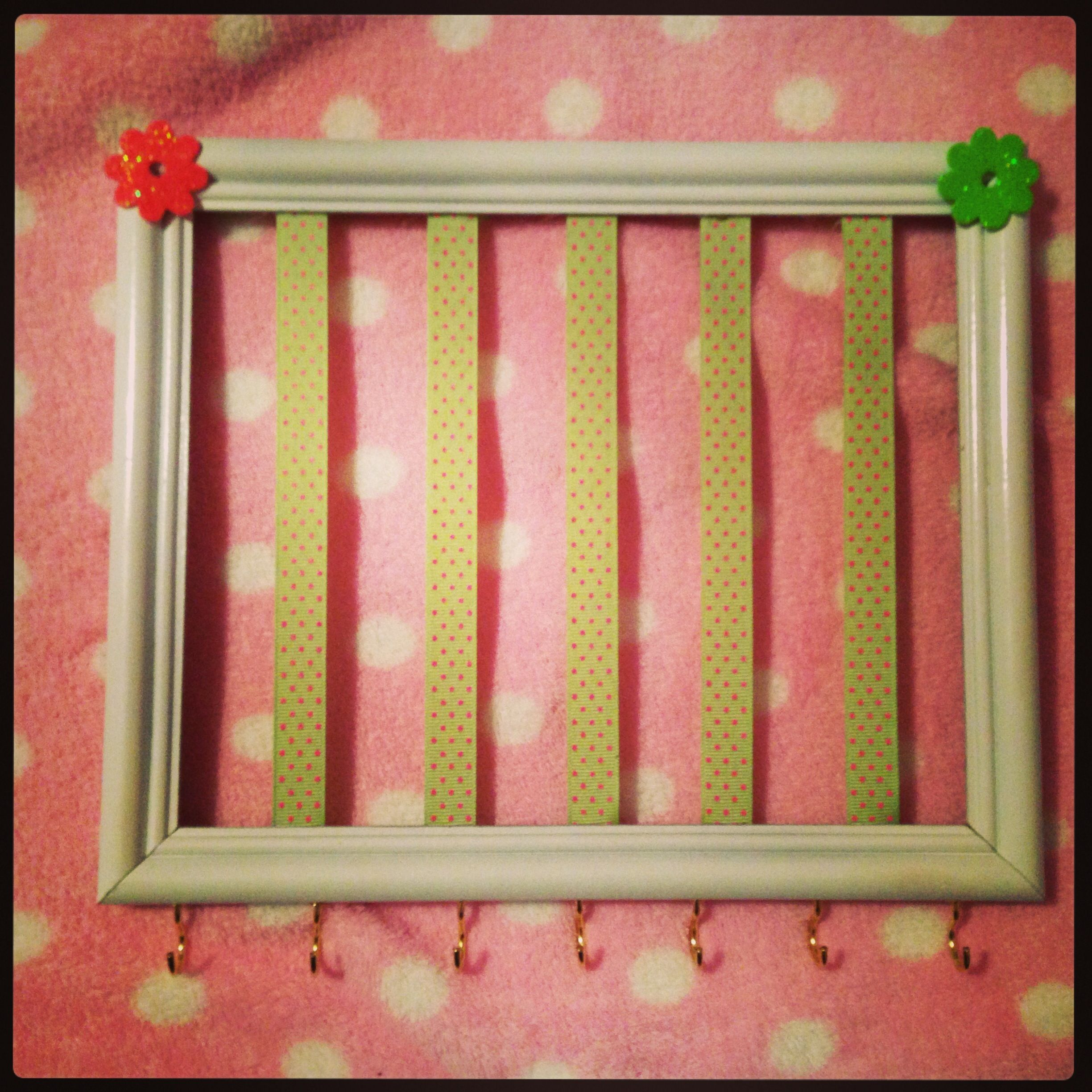 Hair bow caddy crafts pinterest hair bow and craft