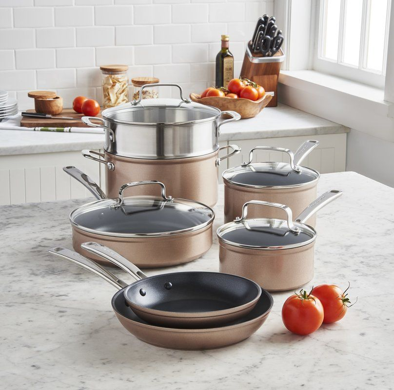 kitchenaid pots and pans stainless steel