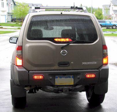 Led Tail Lights In Bumper Nissan Xterra Led Tail Lights Pilot Car