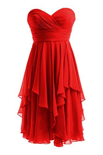 Rotes kurzes kleid amazon