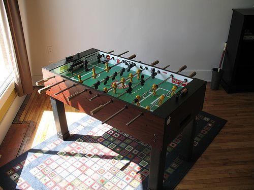 New Foosball Table