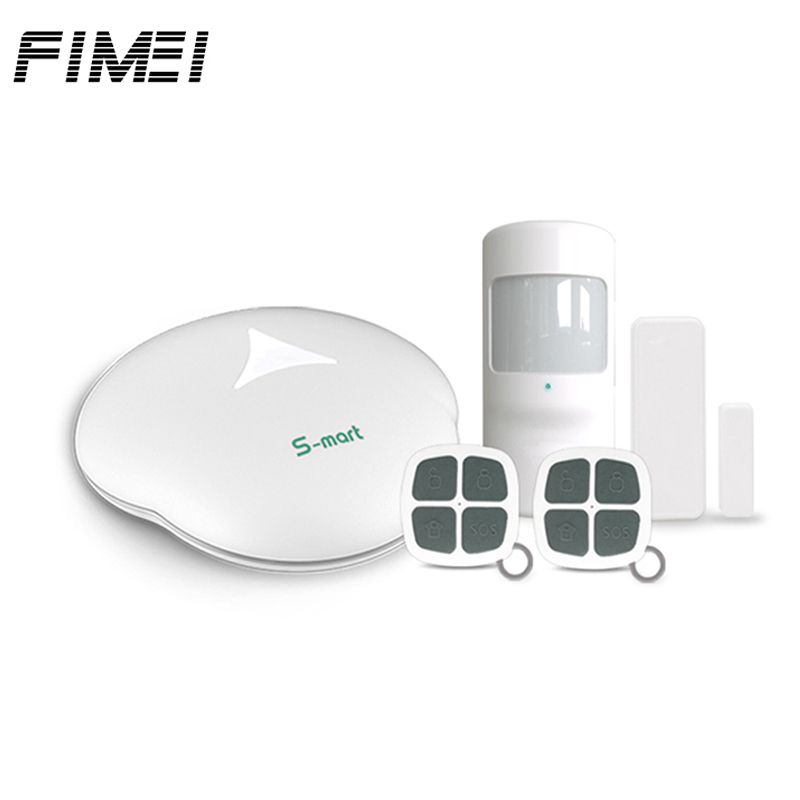 Compare Price GS S3 WiFi Wireless Alarm Systems Security PSTN PIR House  Alarm Security System Mainframe Kits With Remote Controller #GS S3 #WiFi  #Wireless ...