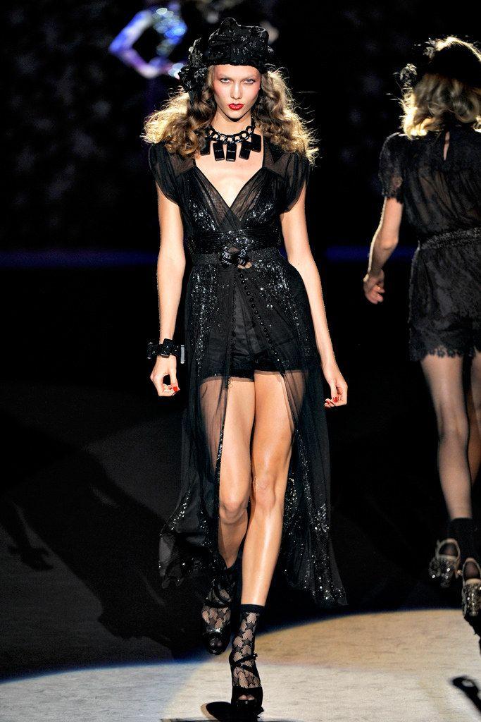Anna Sui Spring 2012 Ready-to-Wear Fashion Show - Karlie Kloss