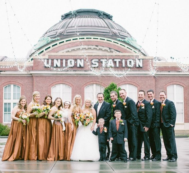 Seattle Vibrant Winter Wedding At Tacoma Union Station