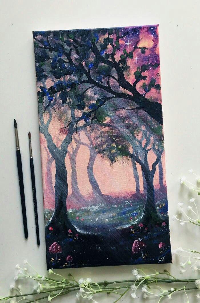 Картинки для рисование акрилом