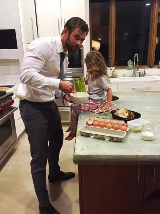 John Legend, Tom Brady: Hot Dads Cooking with Kids