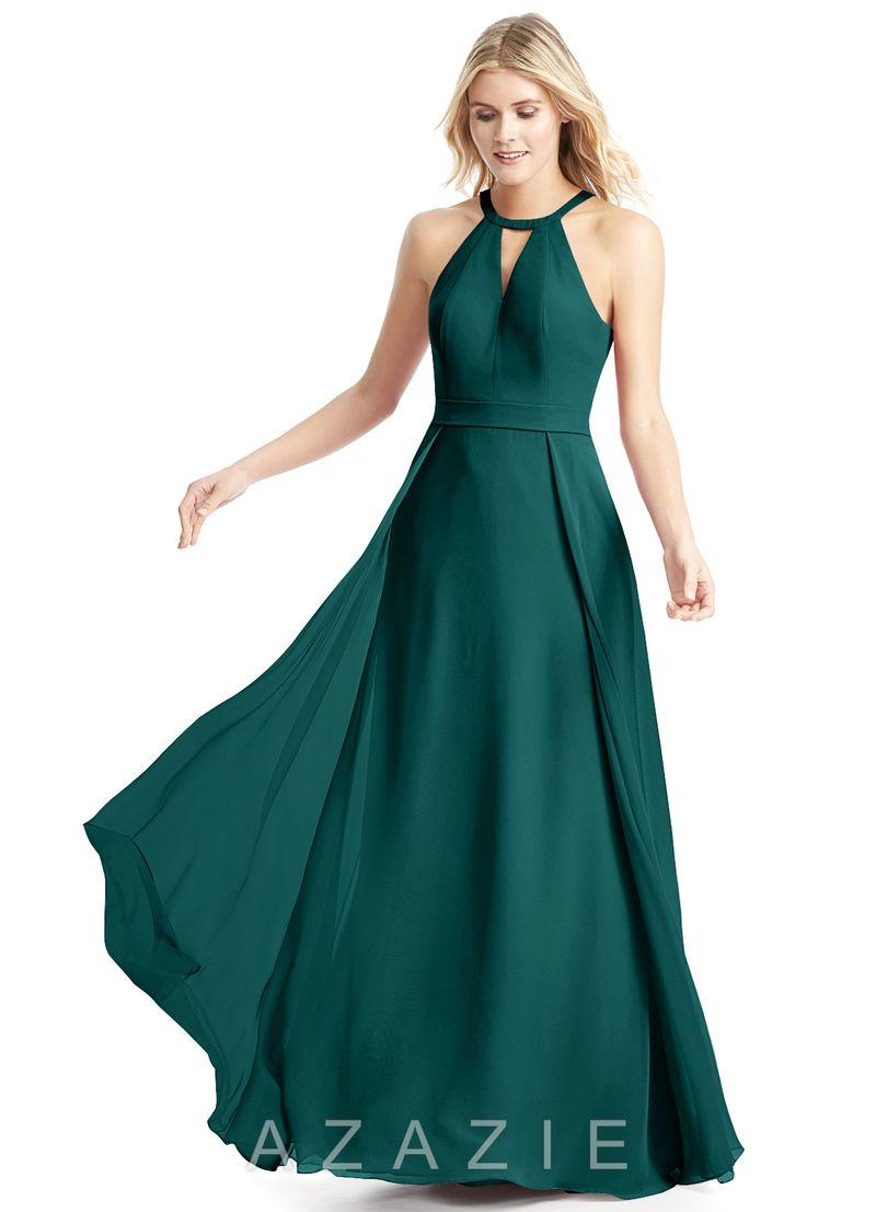 Azazie Melody. Peacock/dark green | Wedding | Pinterest | Peacocks ...