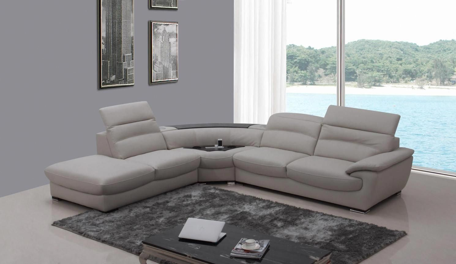 leather corner sofa a magical piece to elegantly fill today s home rh pinterest com