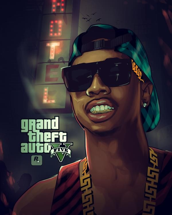 GTA V - Tyga . Night By Streethus On DeviantART