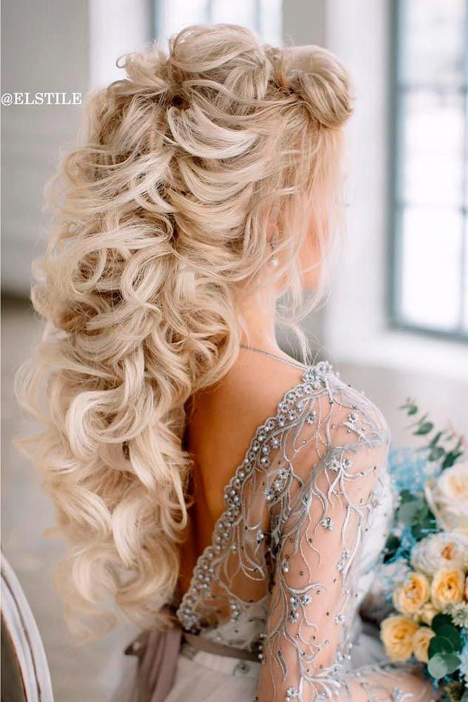 Wedding hairstyles for long hair are huge in number, which makes it not so easy to choose the i ...