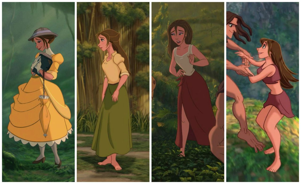 Jane from tarzan loses skirt pics 150
