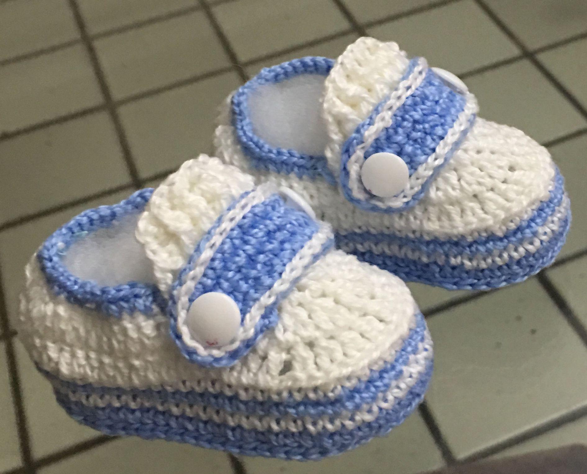 Pin von Sofie Häusler auf Kinder Schuhe, Socken gehäkelt und ...