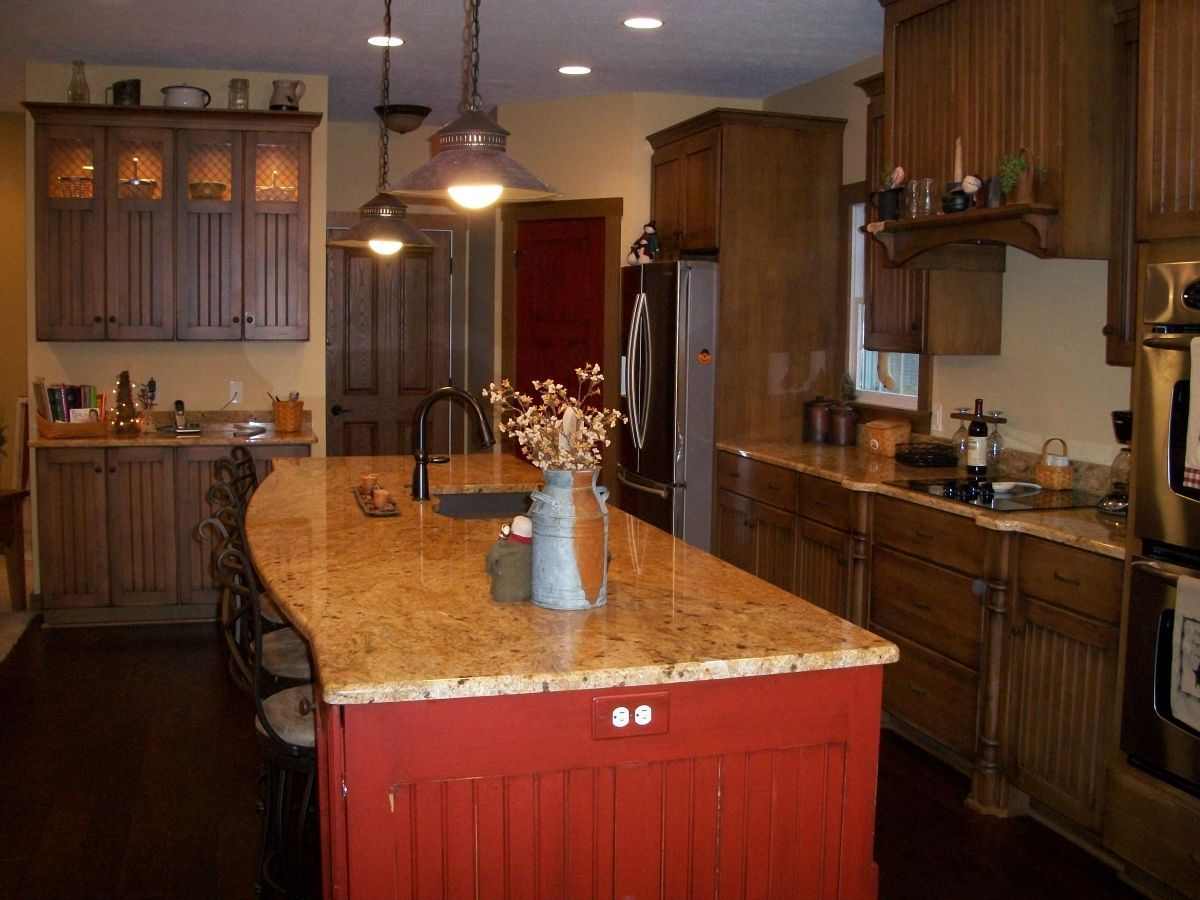 primitive kitchen lighting ideas | Primitive Homestead: MY NEW OLD ...