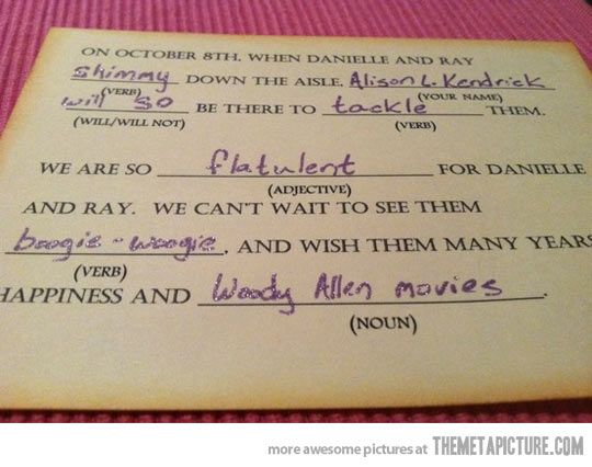 Best wedding response card ever… UMMM TOTALLY DOING THIS | Dream ...