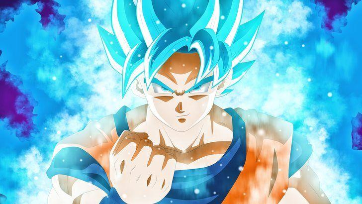 Goku Super Saiyan Blue Dbs Anime Wallpaper Dessin Cheval Fukkatsu No F Dessin