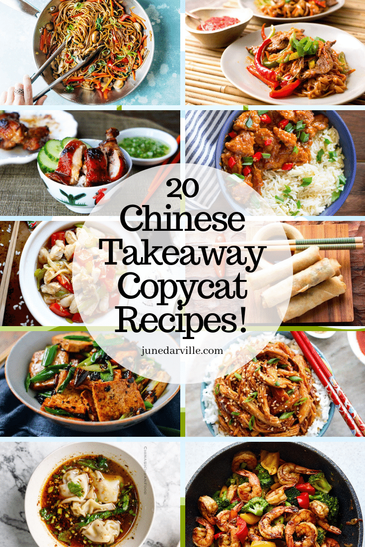 20 Easy Chinese Takeaway Copycat Recipes With Images Chinese