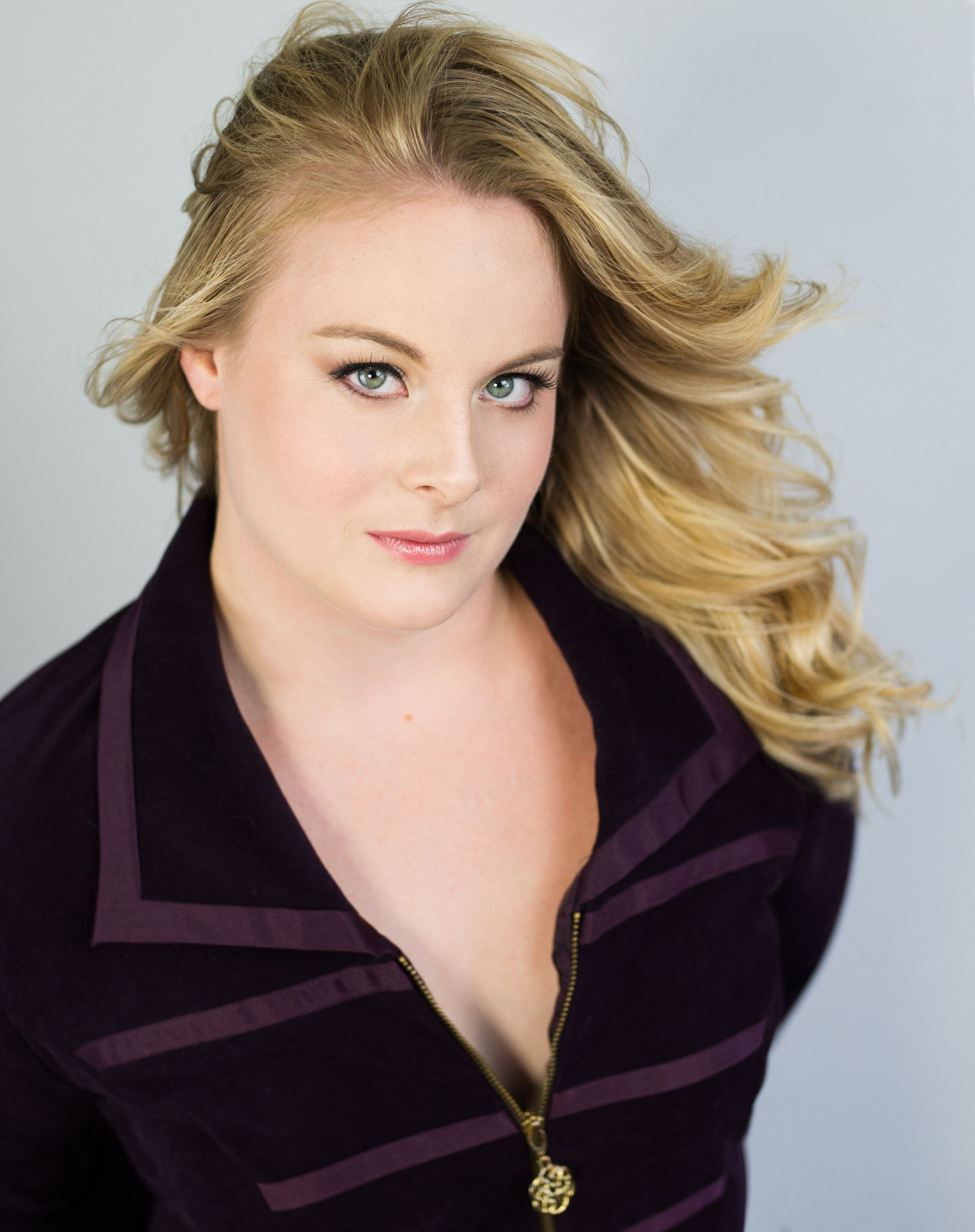 Custom Headshot with hair and makeup. Professional