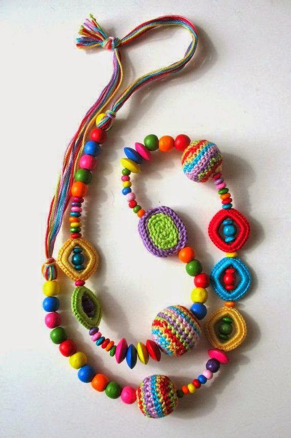 7 Collares de Crochet Inspiracion - Patrones Crochet | Crochet ...