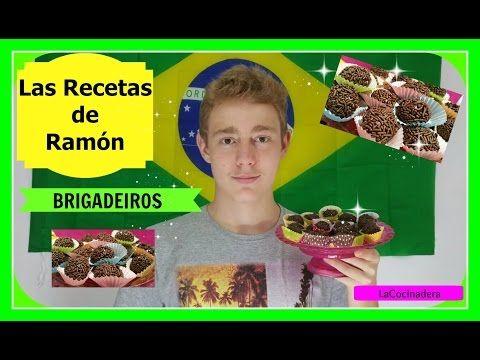 Las Recetas de Ramón para niños: Brigadeiros - LaCocinadera - YouTube