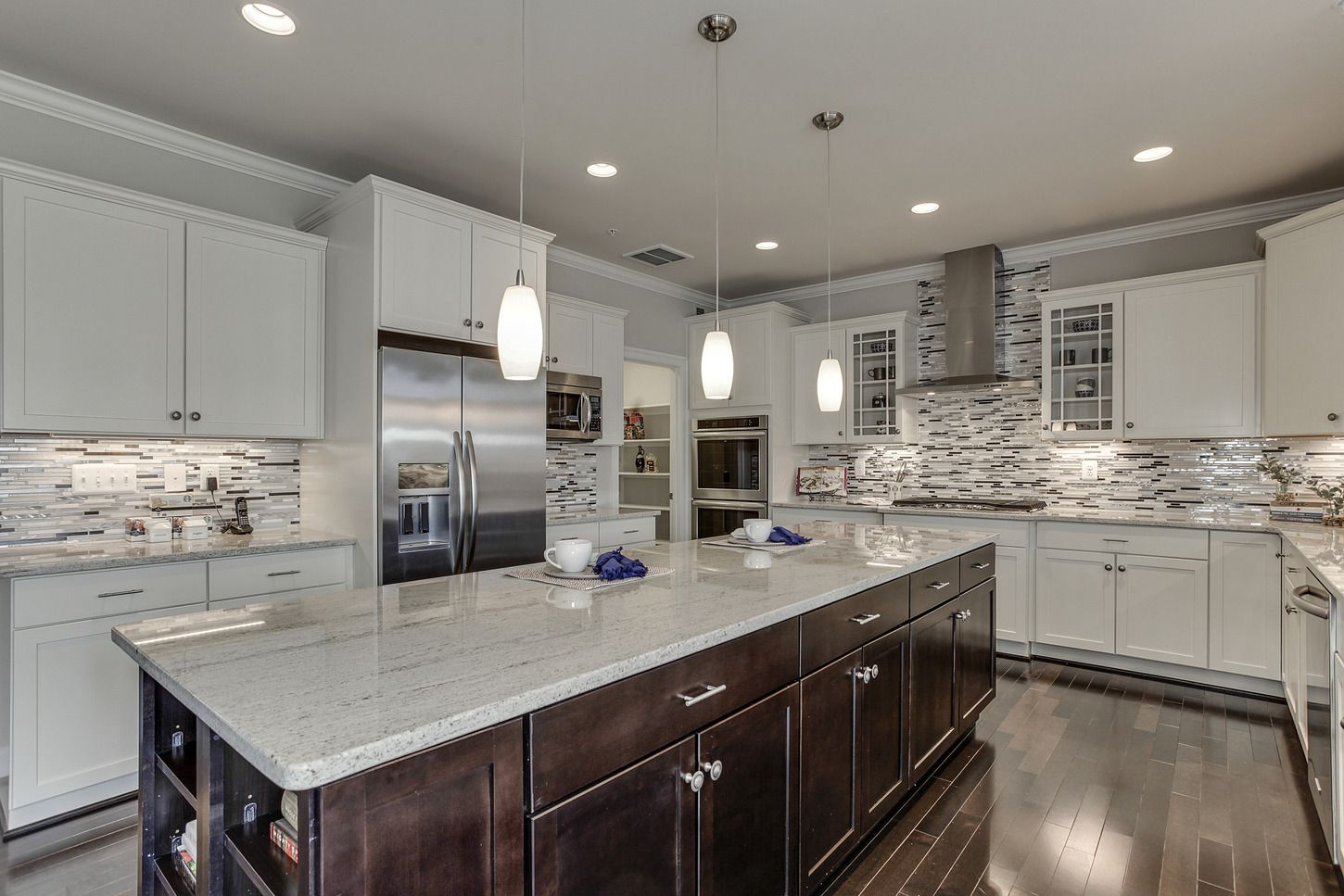 The Sorrento Gourmet Kitchen By Mid Atlantic Builders. Over Sized Central  Island And