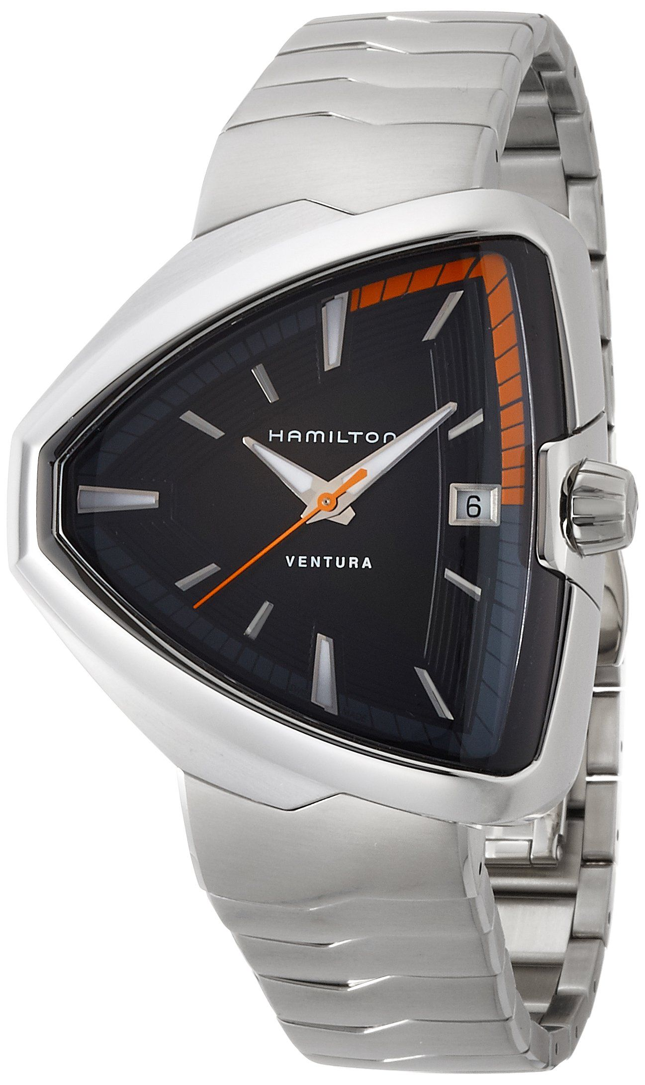 hamilton ventura elvis black dial stainless steel mens watch hamilton ventura elvis80 black dial stainless steel mens watch h24551131 stainless steel case a