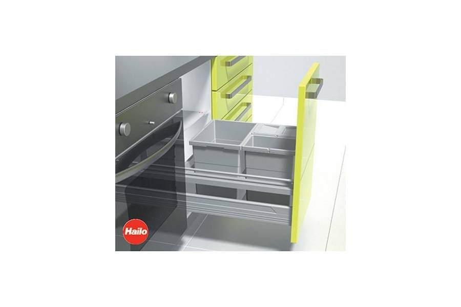 Am nagement poubelle pour tiroir accessoires de cuisines - Tiroir poubelle cuisine ...