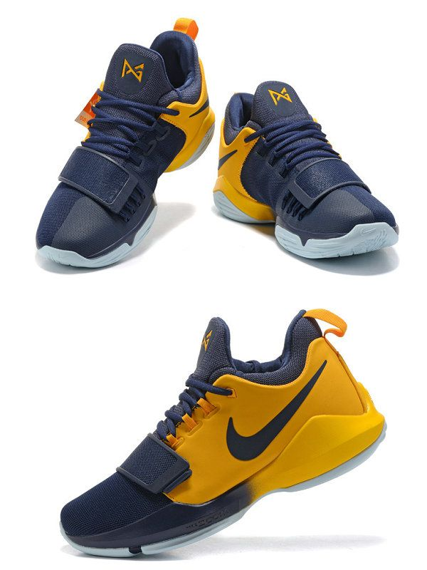 29ad4df03df3 Men s Nike Air PG1 Paul George Cool Grey Pink 878628 006 Basketball Shoes