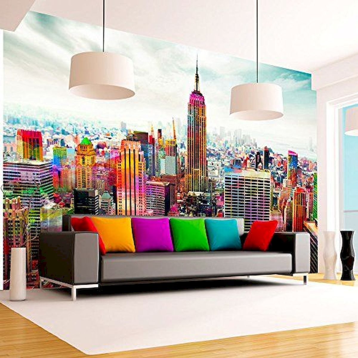 20 Trendy Ideas For A Home Office With Skylights: 60 Most Elegant Wall Art Ideas For Living Room Makeover